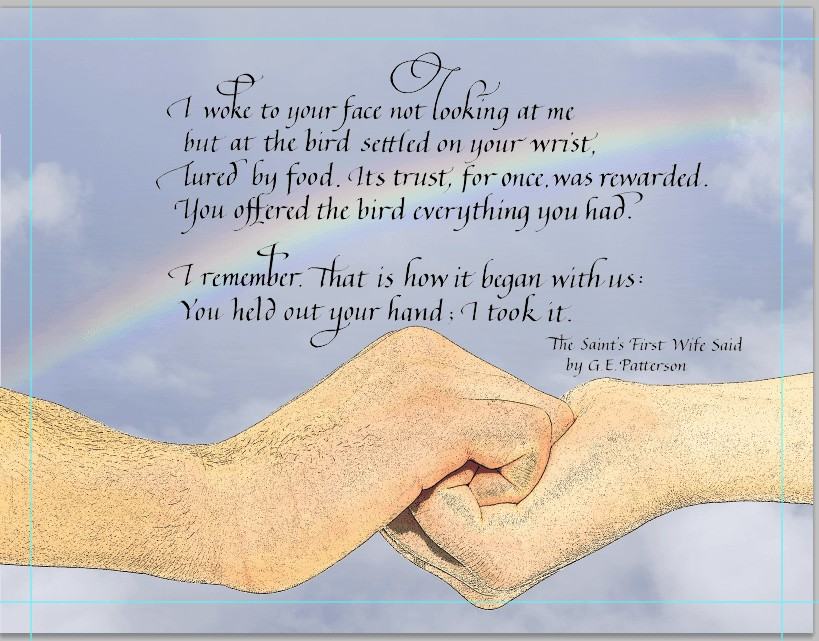 marriage vows of gay couple