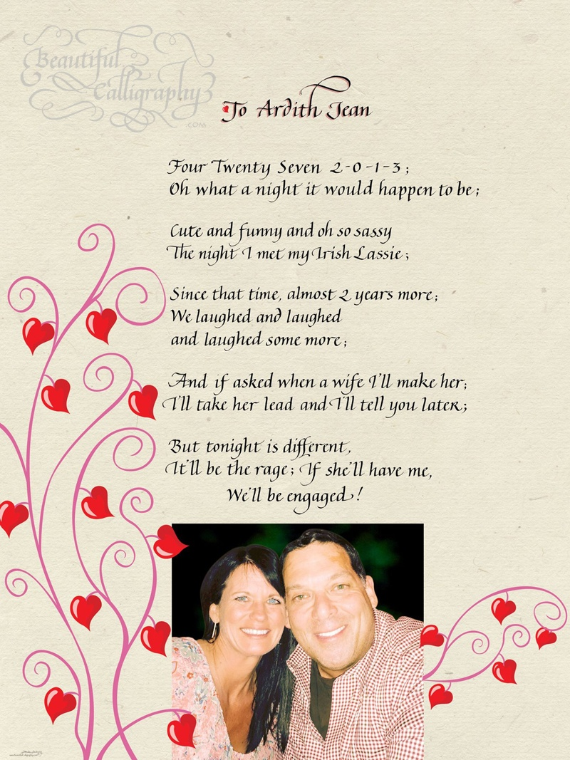 Love Poems Archives | Beautiful Calligraphy Services