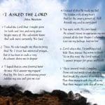 Christian Prayer in caligraphy