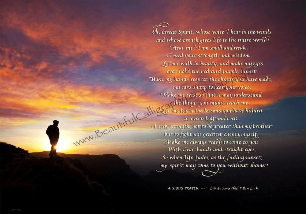 Lakota-Sioux-Prayer
